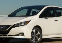 Tesla 4 Wheeler Price New Nissan Announces 2020 Leaf Pricing Starts at $31 600 for 40