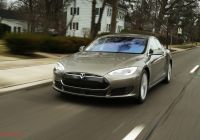 Tesla 7 Fresh 2015 Tesla Model S 70d Around the Block