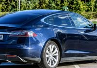 Tesla 7 Fresh File Tesla Model S 70d Midnight Blue Tesla Model S