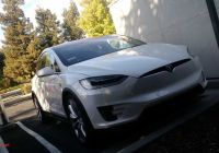 Tesla 8 Lovely Tesla Model X 8 Spotted Charging In the Wild