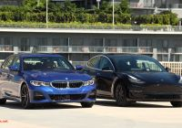 Tesla 90d 0-60 New Bmw 3 Series Vs Tesla Model 3 Parison It S A Magic Number