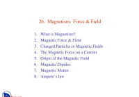 Tesla and Gauss Best Of Magnetism force and Field General Physcis Lecture Slides