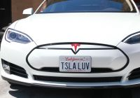 Tesla Back to the Future Best Of Tesla Model S P85 Satin Pearl White Vinyl Wrap by 3m