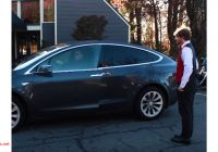 Tesla Battery Price New Tesla Model X Valet Mode Demonstration Video