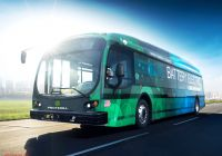 Tesla Bus Unique This New Electric Bus Can Drive 350 Miles On E Charge