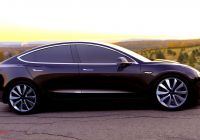 Tesla Car Model 3 Awesome 2017 Tesla Model 3 Electric Car Unveiled Consumer Reports
