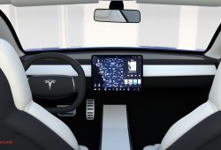 New Tesla Console