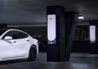 Tesla Factory Luxury Tesla S New Faster V3 Supercharging Network Promises to Cut