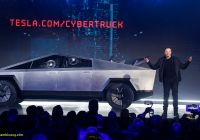 Tesla Founder New Watch Tesla Unveil Its Electric Pickup Cybertruck In A Demo Gone Awry