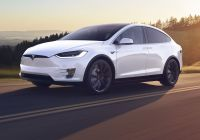 Tesla In Cold Weather Awesome Model X