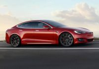 Tesla In Cold Weather Beautiful Model S