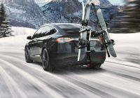 Tesla In Cold Weather Inspirational Model X