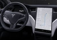 Tesla In Cold Weather Luxury Model X
