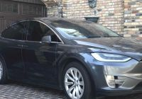 Tesla In Cold Weather New Tesla Model X with Extreme Mileage Racked Up $29 000 In