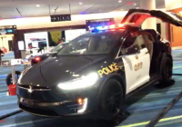 Tesla Los Angeles Awesome sorry Lapd Swiss Police are Ting Tesla Model X