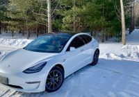 Tesla Model 2020 Awesome Tesla Model 3 Awd In the Winter Canada