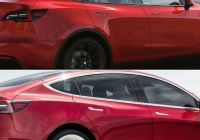 Tesla Model 2020 Elegant Visual Parison 2020 Tesla Model Y Vs 2019 Tesla Model 3