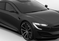 Tesla Model 2020 Fresh New Tesla Model S Rendered with Sporty Exterior Ahead Of