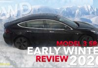 Tesla Model 2020 New Rear Wheel Drive Tesla Model 3 Tested In Ice and Snow
