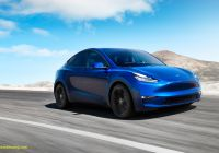 Tesla Model 2020 Unique New 2020 Tesla Model Y Electric Car Enters Production