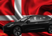 Tesla Model 2020 Unique Tesla Model 3 Wins the Title Car Of the Year 2020 In Denmark