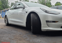 Tesla Model 3 Aero Wheel Cap Kit Luxury aftermarket Tesla Model 3 Wheels and Tires Tesla Owners Line