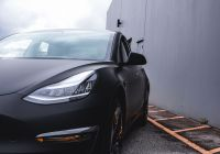 Tesla Model 3 Black Rims Unique Tesla Model 3 Vinyl Wrap In 2020