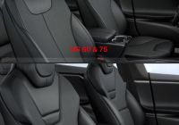 Tesla Model X 90d Elegant Textile Seats Multi Pattern Vary by Model See Difference