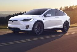 Lovely Tesla Model X Drawing