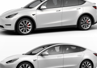 Tesla Model Y Wheels Elegant Tesla Model 3 and Model Y Side by Side