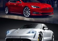 Tesla Price Indonesia Beautiful Tesla Vs Porsche Does the Model S Finally Have A