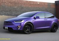 Tesla Price Indonesia Luxury Matte Purple Tesla Model X
