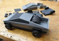 Tesla Quad Inspirational Tesla Cybertruck by Wov Thingiverse