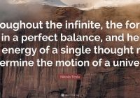 Tesla Quotes Awesome Lovely Importance Balance In Life Quotes