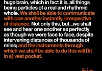 Tesla Quotes Elegant Nikola Tesla Described the Modern Smartphone — In 1926