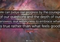 Tesla Quotes Luxury We Can Judge Our Progress by the Courage Of Our Questions