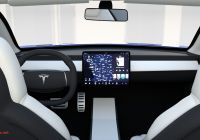 Tesla Roadster Elegant Tesla Roadster Model S X 3 with Interiors and Chassis