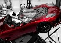 Tesla Roadster Elegant Watch Live Spacex to Launch Tesla Roadster Into Space