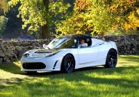 Tesla Roadster Luxury the First Tesla Roadster A Look Back at the Early Adopter S