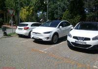 Tesla S Awesome Tesla Model X P90d Spotted