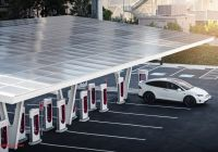 Tesla Supercharger Luxury Tesla Supercharger V3 Futuristic Station is Final Piece Of