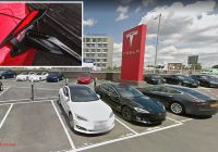 Tesla Supercharger V3 Luxury Tesla S New V3 Faster Charger In Park Royal Can Charge In 15