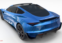 Tesla to Buy New Tesla Roadster Electric Blue with Interior Roadster Tesla