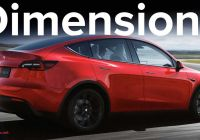 Tesla Tuning Beautiful Tesla Model Y Dimensions Confirmed How Does It Size Up
