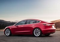 Tesla Used Cars Awesome Tesla Model 3 Review Worth the Wait but Not so Cheap after