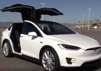 """Tesla with butterfly Doors Awesome Tesla Model X Test Driver Says """"it S A Bigger Better Honda"""