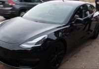 Tesla with Wing Doors Awesome Blacked Out Tesla Model 3