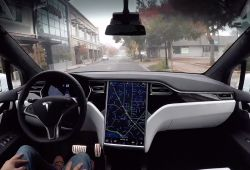 Unique Tesla without Autopilot