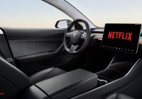 Tesla without Steering Wheel Fresh Tesla S Infotainment System to Get Netflix and