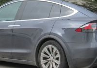 Tesla X Fresh File 2017 Tesla Model X 100d Rear Wikimedia Mons